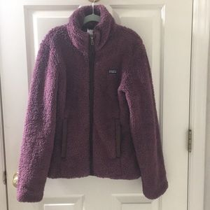 Patagonia wine color jacket